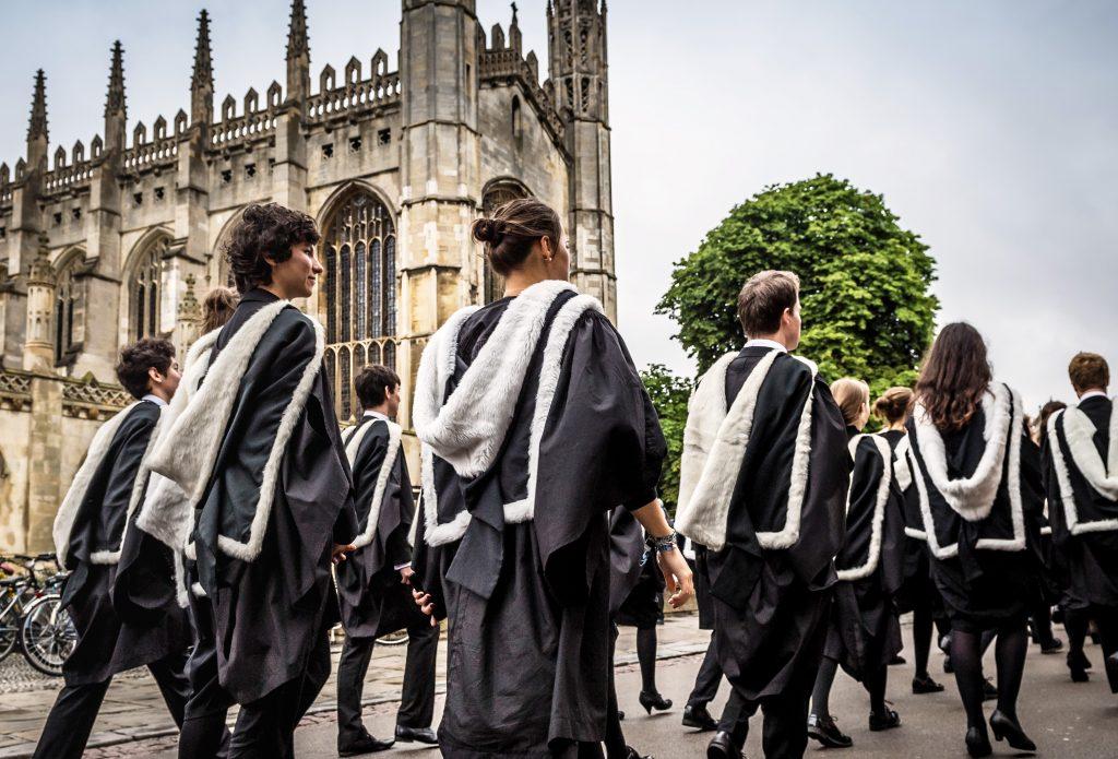 劍橋大學畢業典禮 University of Cambridge Graduation Ceremony